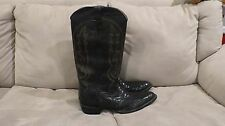 GIANT SIZE custom made boots SIZE 18  HUGE one of a kind super tall wide calf