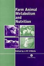 Farm Animal Metabolism and Nutrition: Critical Reviews