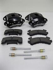 Wilwood D154 Front Caliper Kit - Black Powder Coated Caliper 140-12099-BK w Pads