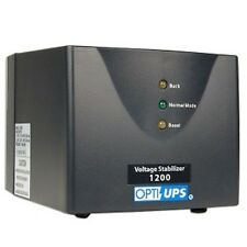 OPTI-UPS AVR SS1200 Auto Voltage Regulator 6 US Outlets
