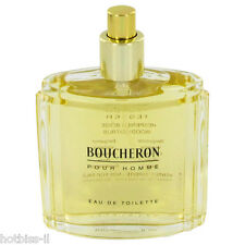 Boucheron Pour Homme Cologne Perfume For Men 3.4 oz 100 ml New Edt Spray TESTER