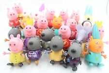 "Random Pick 10 Of PEPPA PIG 3"" PEPPA PIG AND FRIENDS FIGURES RR11"