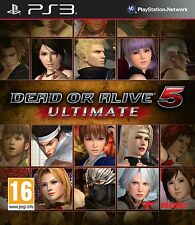 PS3 Dead or Alive 5 Ultimate V game for Playstation 3 New