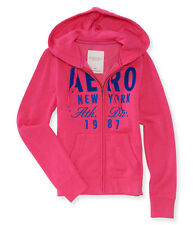 NEW Women's Aeropostale Aero New York Athletic Full Zip Hoodie 2XL Gossip Pink