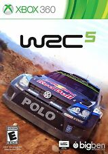 WRC 5 - Xbox 360 Car Racing Adventure Multiplayer Online Video Games Accessories