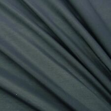 """Dressmaking Material Gray Cotton Silk Fabric 50"""" WdSew By 1 Metre FCS1C"""