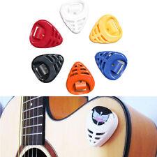 6 piezas Estuche Para Púa De Guitarra plectro Caja Carcasa Genial Musical Regalo