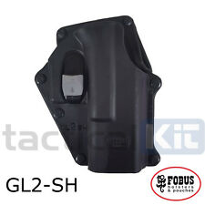 New Fobus Glock 17/19 Locking Paddle Holster UK Seller GL-2 RSH