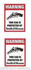 Set Smith&Wesson Aufkleber Sticker Auto US Cars Tuning Rocker Biker Motorrad V8