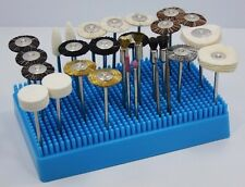 Rotary Tool Accessory Kit With Stand 30 Pieces