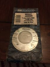 "Michael Jackson Rare 3"" CD  'I Just Can't Stop Loving You' + 'Baby Mine'"