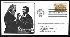 #1705 13c - Centennial of Sound Recording - Fisher/Postmasters of America FDC