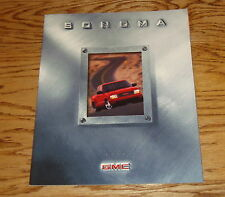 Original 1999 GMC Sonoma Sales Brochure 99