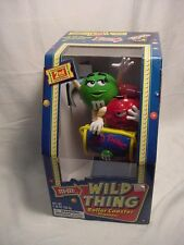 M&M 2nd Edition Wild Thing Roller Coaster Candy Dispenser In Box