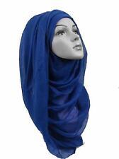 Ladies Big Large Maxi Plain Viscose/Rayon Shawl Scarf Hijab Sarong Wrap Cape vs