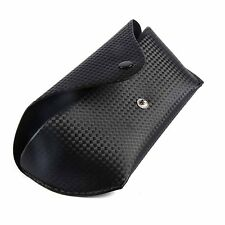 Fashion Durable Leather Sunglasses Case Reading Glasses Optical Glasses Box   B
