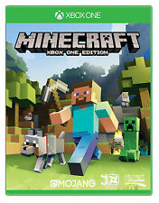 Minecraft (Microsoft Xbox One) Inc builders pack. Favourites pack and 14days XBL
