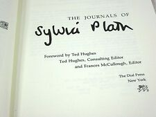 The Journals of Sylvia Plath Foreword by Ted Hughes Francis McCullough Dial Pres