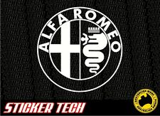 ALFA ROMEO VINYL STICKER DECAL TO SUIT 146 147 155 156 159 GTV GTA ALFASUD