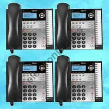 LOT OF 4 AT&T 1070 4 LINE CORDED BUSINESS PHONES - CALLER ID - NEW