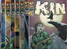 KIN #1-#6 SET PLUS EXTRA VARIANT #6 COVER & #1 DYNAMIC FORCES #1 ALTERNATE (NM)