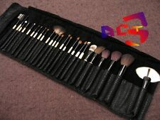 25 pcs Professional MakeUp Brushes - Goat, Pony, Sable & Squirrel Hair Brush Set