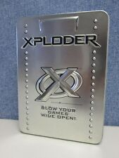 Xploder DVD Care Kit Laser Lente & Disco Limpiador/Tester (nuevo) PS2/Disco Xbox/360/PC