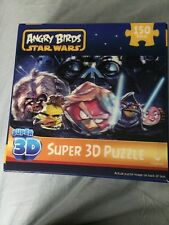 "ANGRY BIRDS STAR WARS SUPER 3D 150 PIECE PUZZLE 18"" x 12"""