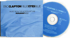 ERIC CLAPTON CD Blue Eyes Blue GERMAN 2 Track PROMO in Pic Sleeve.
