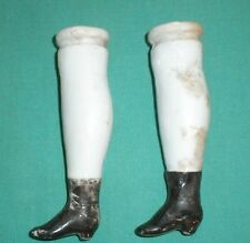 antique legs Biedermeier / glazed 3.5""