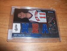 2009-10 Basketball Andy Rautins Rookie Premiere Materials Auto Card 380/499