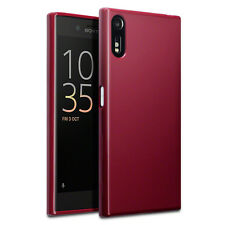 ORIGINALE Sony Xperia XZ Custodia Slim robusto FLEX Armour TECH Hybrid Gel TPU ROSSO
