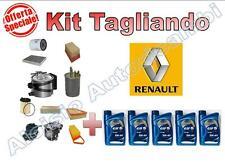 KIT TAGLIANDO RENAULT MEGANE II 1.5 DCI - OLIO ELF EVOLUTION 5W40 + FILTRI