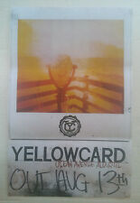 Music Poster Promo Yellowcard ~ Ocean Avenue Acoustic