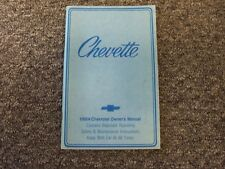 1984 Chevy Chevette Owner Operator User Guide Manual Hatchback CS Diesel