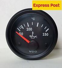 VDO COCKPIT VISION 52mm 12v OIL TEMP GAUGE AUTOMOTIVE MARINE 4WD