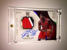 12-13 JIMMY BUTLER IMMACULATE COLLECTION ACETATE 3CLR ROOKIE RC PATCH AUTO /21