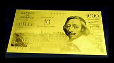 "★★★ BILLET POLYMER  "" OR "" DU 10 NVX / 1000 FS RICHELIEU ● DESTOCKAGE ★★ REF6"