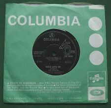 """The Seekers Walk With Me / We're Moving On DB 8000 7"""" Single"""