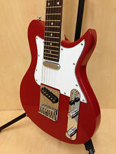 Caraya 3/4 Size Traveler Series Tele-Style Electric Guitar,Red + Full Set Gifts