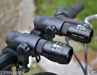 Pair Cree Q5 LED Zoomable Bike Cycling Head Light Front Flashlight Torch Lamp F6