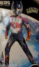 Transformers Dark of the Moon Small 6 Optimus Prime Costume New Glows Size 4-6
