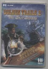NEUF JEU PC OBJETS CACHES GOLDEN TRAILS 2 : THE LOST LEGACY édition collector
