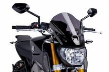 Yamaha MT09 Touring Style Screen: Dark Smoke 420091F