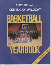 FIRST Annual Kentucky Wildcat Basketball Yearbook