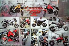 "HONDA ""MSX 125 - 13 SHOTS OF THE MOTORBIKE"" POSTER FROM ASIA-Motorcycle, Scooter"