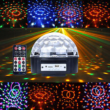 New Portable Digital Stage Light Lighting Ball MP3 USB SD LED RGB Disco DJ Party