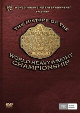 WWE The History Of The World Heavyweight Championship New Region ALL Sealed NTSC