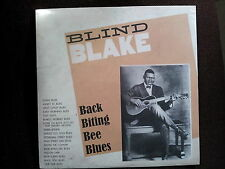 BLIND BLAKE - Back Biting Bee Blues NEW/SEALED Acoustic Country Blues