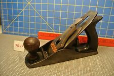 Vintage Stanley #4 Bench Plane Corrugated Base